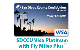 SDCCU Fly Miles Plus Visa
