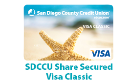 SDCCU Secured Visa Classic