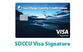 SDCCU Visa Signature