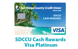 SDCCU Cash Rewards Visa